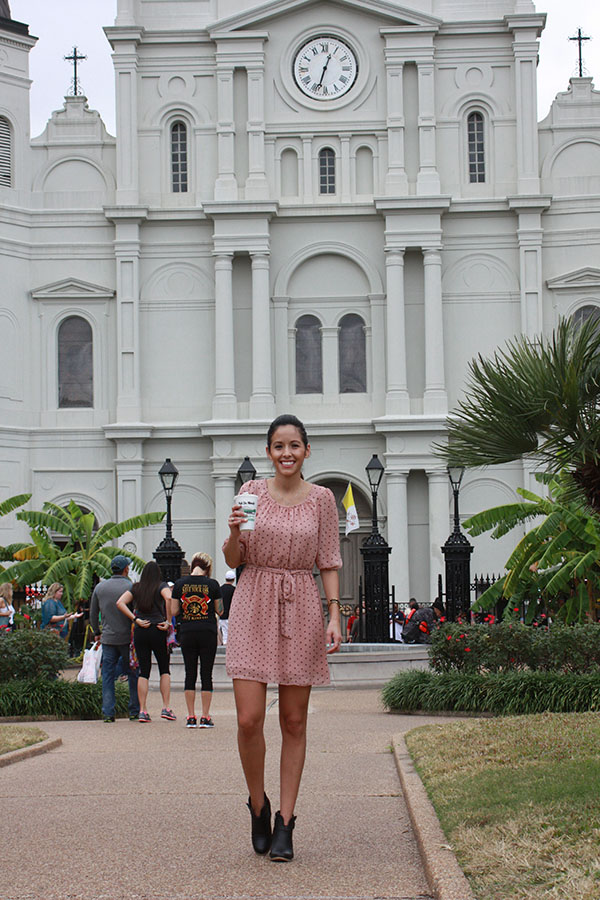 NOLA-D1-pink-polkadot-dress-blackbooties