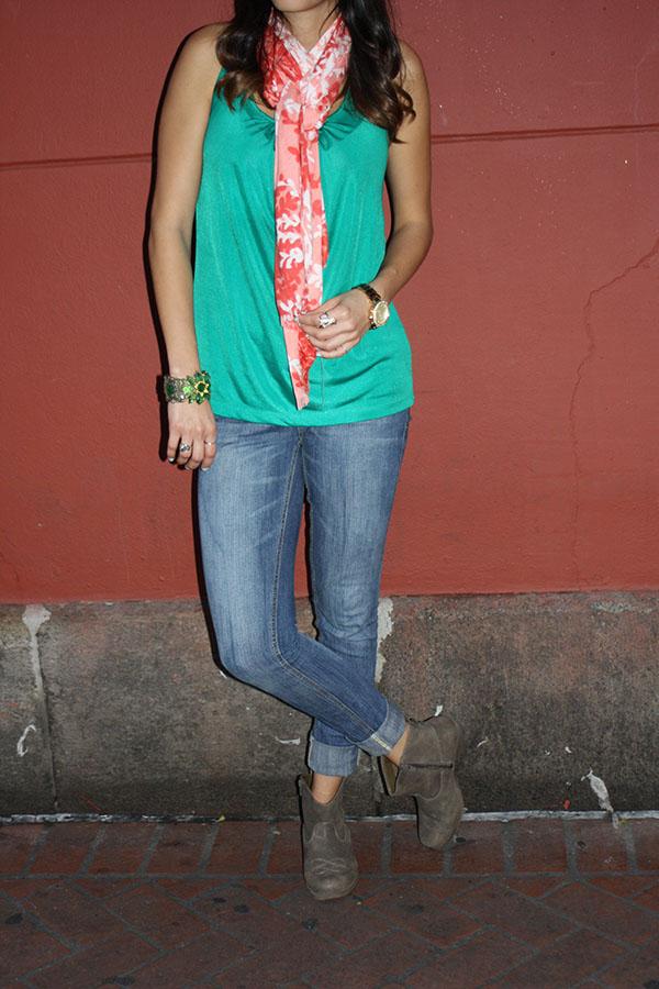 NOLA-D2-jeans-booties-tanktop-scarf