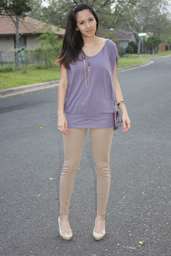 purple-top-tan-pants-full-outfit